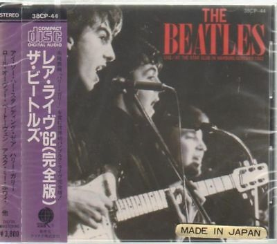 CD The Beatles Live / At the star club in Hamburg Germany 1962 NEW OVP