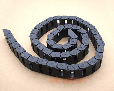 6 Cable drag chain wire carrier 25*38 length 1000mm(C) [CAPT2011]
