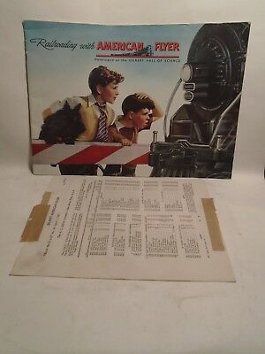 Original 1947 #d1473 American Flyer Trains Catalog In Near Mint Condition