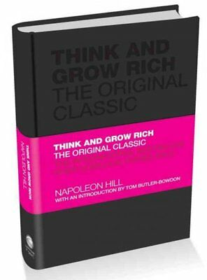 Think and Grow Rich, Hardcover by Hill, Napoleon; Butler-Bowdon, Tom (INT), L...