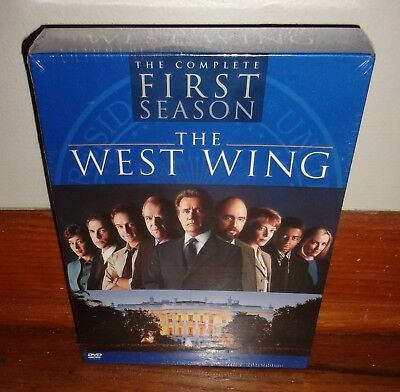 THE WEST WING-The Complete First Season-4 DVD Box Set-BRAND NEW, SEALED, Perfect