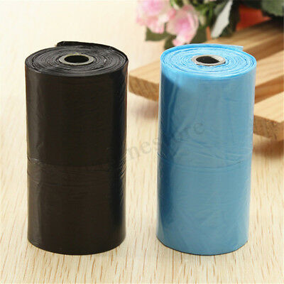 200/400x Dog Poo Bag Pet Cat Waste Poop Clean Pick Up Biodegradable Garbage
