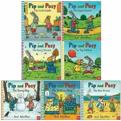 Pip and Posy Collection By Axel Scheffler 7 Books Set Bedtime Frog Snowy Day NEW