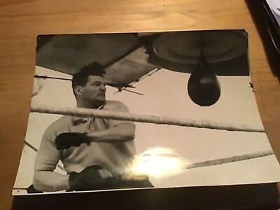 """Unknown Boxing Photograph  (8"""" x 6"""") 16/5/1950."""