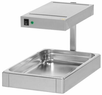 Wärmebrücke, 330 x 550 x 380 mm, Stainless Steel Food Warmer Hot