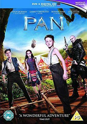 Pan [DVD] [2015], DVD, New, FREE & Fast Delivery