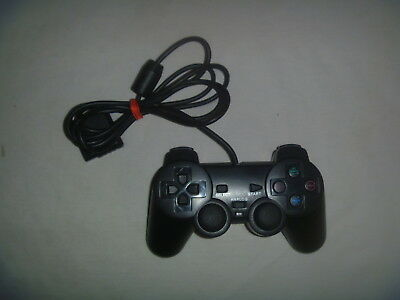 Generic Sony Playstation 2 PS2 Dual Shock Wired Controller Black