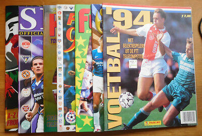 Panini Unused Football Sticker Albums - Various Years - Your Choice & Post Free
