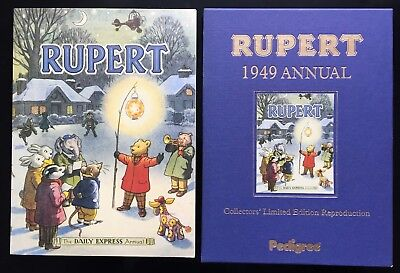 RUPERT FACSIMILE ANNUAL 1949 VERY FINE LTD EDITION in V FINE Slipcase JAN SALE!
