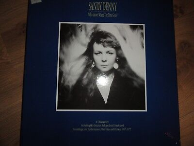 SANDY DENNY - Who Knows Where The Time Goes? - 4 LP-Box Island Records