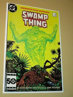 SWAMP THING #37 1st full appearance of John Constantine WHITE PAGES High Grade