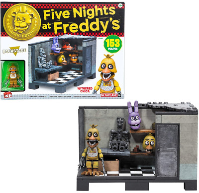 Five Nights At Freddys Construction Backstage Medium Classic Series McFarlane