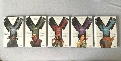 Y The Last Man DELUXE COMPLETE Volume 1-5 (HARDCOVER) *LIKE NEW comic book novel