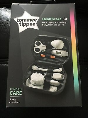 Tommee Tippee Healthcare Baby Grooming Kit Thermometer Brush Nail Clipper Comb