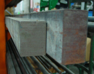 """Hot Roll Rolled Steel HRS Bar 1.5"""" x 2.0"""" SOLD BY THE FOOT"""