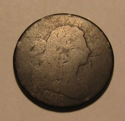 1802 Draped Bust Large Cent Penny - Circulated Condition - 68SA