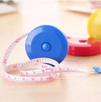 `Portable Body Measuring Ruler Sewing Tailor Tape Measure Soft Flat 1.5m miuop
