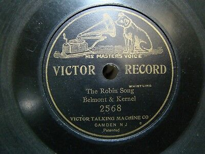 Victor 7 inch Disc Record #2568