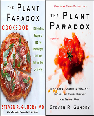 The Plant Paradox and The Plant Paradox Cookbook by Steven Gundry  ( E Book )