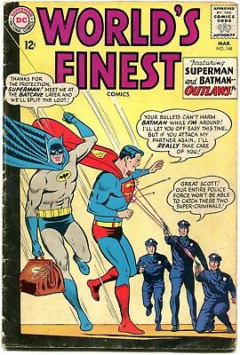 World's Finest#148 - Batman/robin/superman  - Sheldon  Moldoff - Cents Copy
