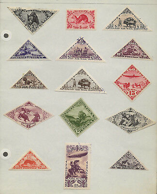 Tanu Tuva Collection Mh/used Stamps