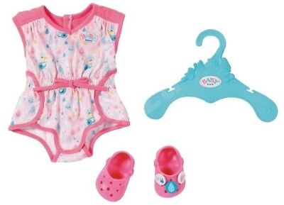 Baby Born Pyjamas With Shoes Set Brand New On Hanger To Fit The 43 Cms Doll