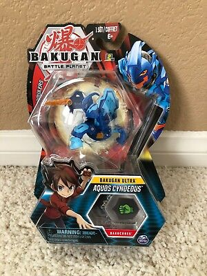 Bakugan Ultra AQUOS CYNDEOUS Battle Planet Battle Brawlers Bakugan Pack
