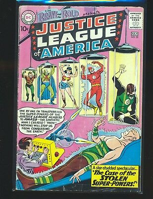 Brave & The Bold # 30 - 3rd Justice League VG Cond.