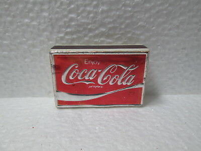 Coca~Cola Small Box Of Matches, Made In Italy