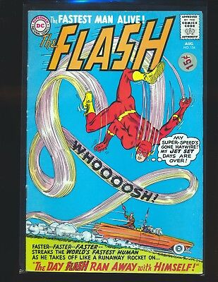 Flash # 154 VG+ Cond. price sticker on cover