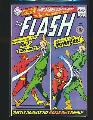 Flash # 158 VG Cond. price sticker on cover centerfold detached by bottom staple