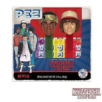 Pez Collectible Netflix Stranger Things,lucas And Dustin Candy Dispensers,6/2023