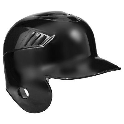 Rawlings Coolflo Right Ear Single Flap Baseball Batting Helmet - Black - Large