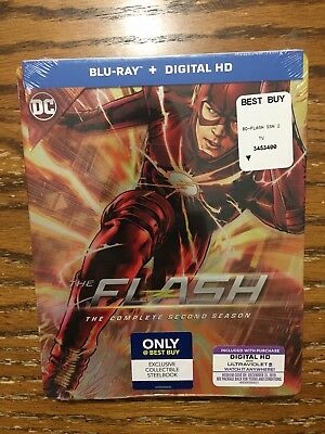 Blu Ray The Flash Complete Second Season Steelbook