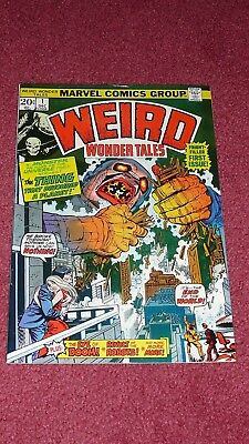 WEIRD WONDER TALES #1, VF/NM 9.0 (Marvel, 1973)