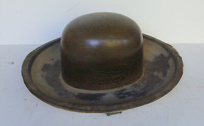 uncommon antique Cowboy Hat mold  *