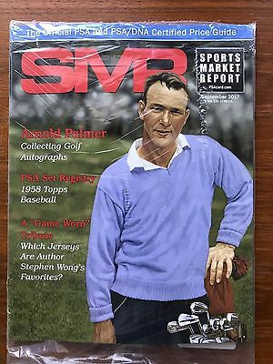 SMR Magazine Sports Market Report PSA September 2017 Arnold Palmer New in Bag