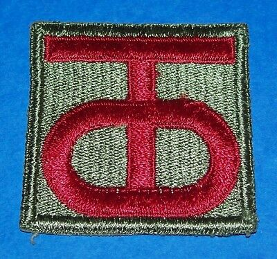 ORIGINAL CUT-EDGE WW2 90th INFANTRY DIVISION PATCH