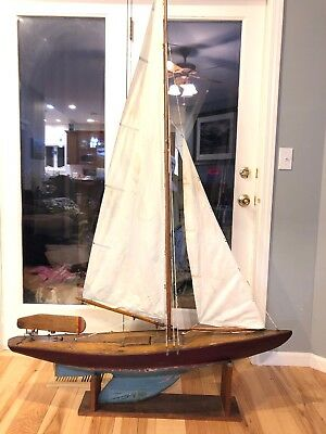 Antique Pond Boat 6' Tall 4' Long