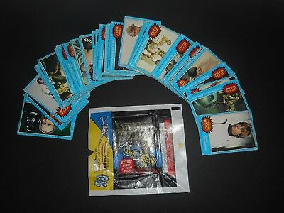 1977 Topps Star Wars 1st Series 1 Complete 66 Blue Card Set + Wrapper Low Grade