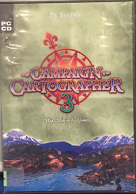 Campaign Cartographer 3- Map Making For Gamers Pc Cd 2006