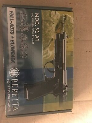 BERETTA 92A1 CO2 Full Auto BB Pistol Has An Extra Mag Brand New Would Cost  45
