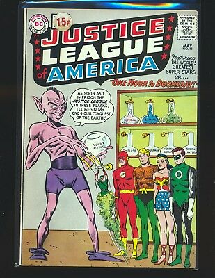 Justice League of America # 11 VG/Fine Cond. price sticker on cover