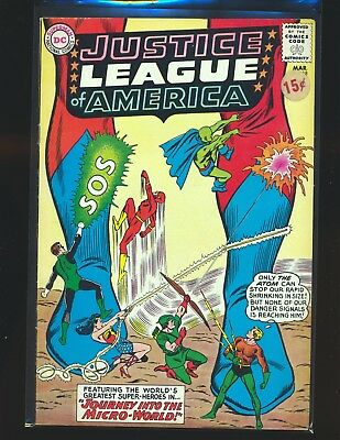 Justice League of America # 18 VG/Fine Cond. price sticker on cover