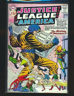 Justice League of America # 20 VG/Fine Cond. price sticker on cover