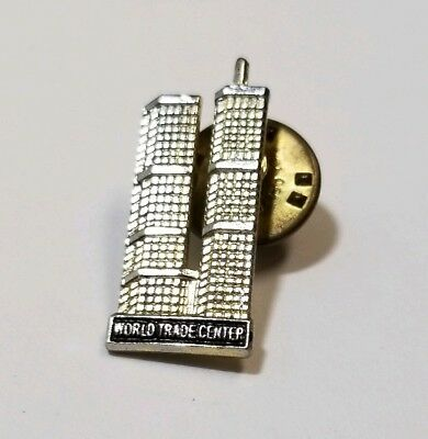 Pre 9-11 Pin WTC World Trade Center Twin Towers Never Worn