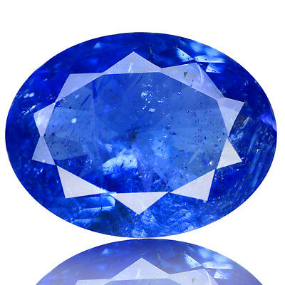 4.34 Ct Excellent Look !100% Natural Aaa Color Blue Tanzanite