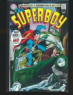 Superboy # 164 - Neal Adams cover VF Cond.