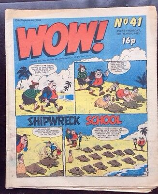 WOW COMIC. No. 41. 12 MARCH 1983. FN