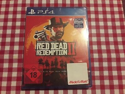Red Dead Redemption 2 PS4 NEU&OVP